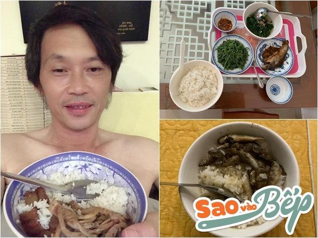 Sao vào bếp: Xây nhà thờ tổ trăm tỷ, nhưng Hoài Linh chỉ ăn cơm không đến 40k/bữa