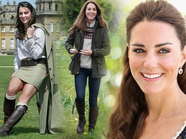 Diện lại giày 17 năm trước, Công nương Kate cho thấy nhan sắc bất biến với thời gian