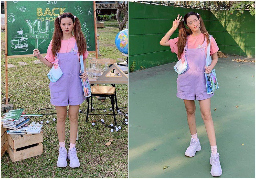 Đều U35, mỹ nhân Việt vẫn xúng xính váy áo nữ sinh: Elly Trần gợi cảm, Midu trẻ đáng gờm - 11
