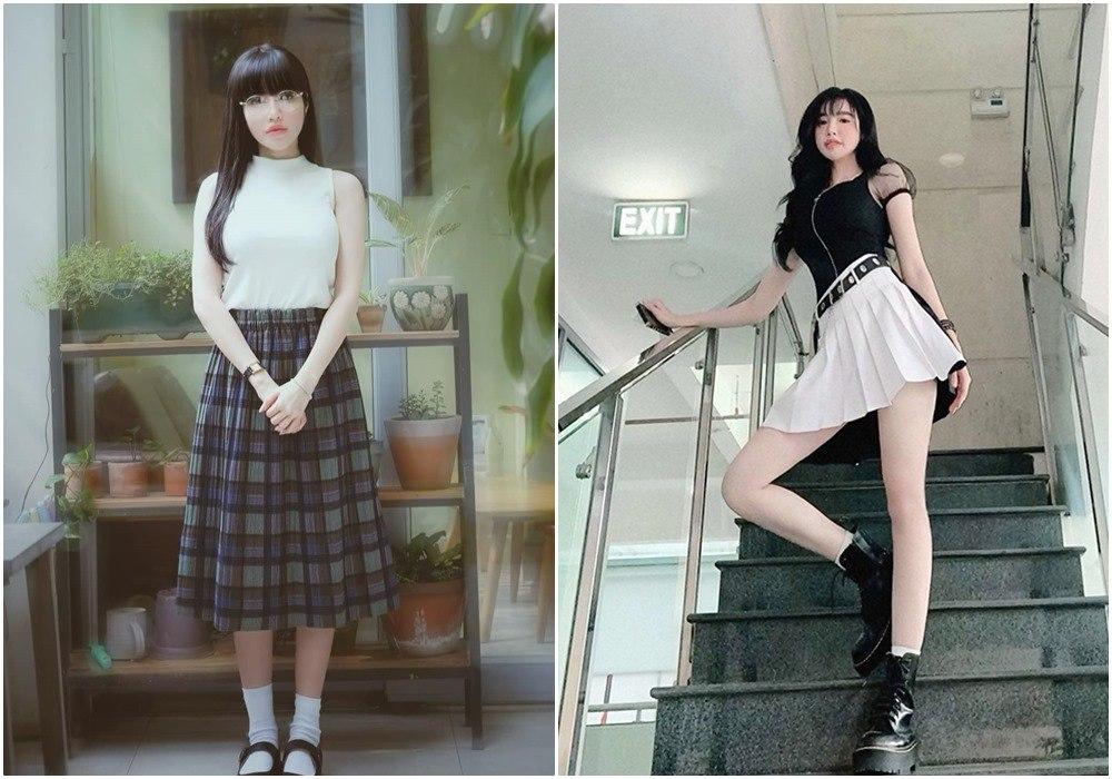 Đều U35, mỹ nhân Việt vẫn xúng xính váy áo nữ sinh: Elly Trần gợi cảm, Midu trẻ đáng gờm - 7