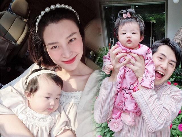 Phát sốt với style diện đồ cùng ba mẹ của nhóc tì nhà Đông Nhi - Ông Cao Thắng