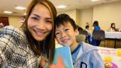 Sau 1 năm bị bỏng nặng, giờ Hồng Ngọc xinh đẹp đến trường con trai dự Ngày của mẹ