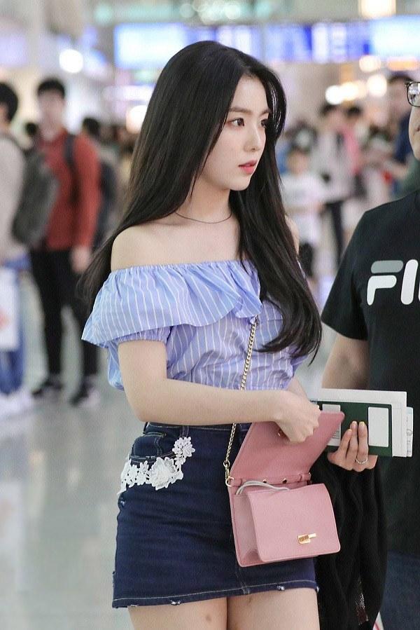 Sao Hàn cứ diện áo trễ vai là quyến rũ, bí kíp trẻ hoá và trông mảnh mai là đây - 8