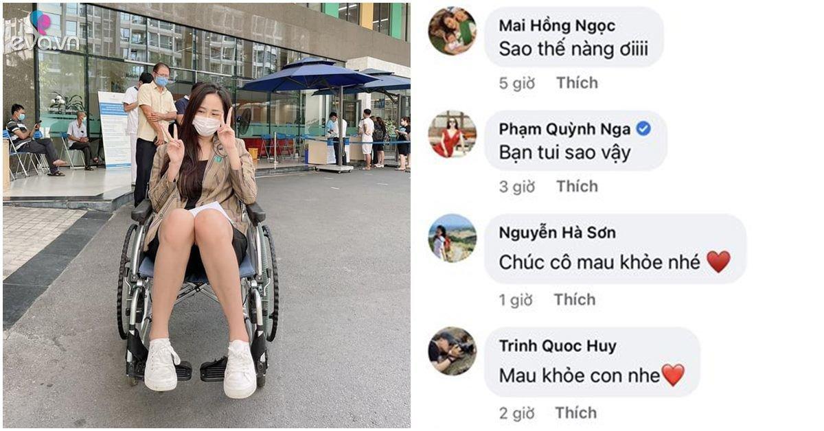 Sao Việt 24h: Mai Phương Thuý bất ngờ lộ hình ảnh ngồi xe lăn