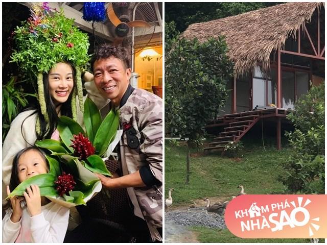 Nhà Celeb: NSƯT Việt Hoàn mua 10.000m2 đất để dựng nhà tranh, trong vườn toàn hoa cỏ