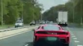Thích thể hiện, tài xế khiến siêu xe Ferrari mới mua gặp nạn