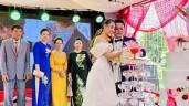 """Nữ diễn viên cưới """"chạy dịch"""": May mà kịp tổ chức xong ở quê, tiệc Sài Gòn đành hoãn thôi!"""