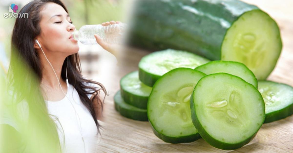 10 rau quả chứa hơn 90% nước, giải khát nhanh chóng lại còn mát và tốt hơn nước lạnh