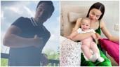 Quản lý Kim Lý đăng clip Kim Lý nói tiếng Việt khoe con hết lời, khen giống bố