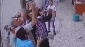 Người dân giơ tay hứng trọn bé gái rơi khỏi tầng 3 chung cư