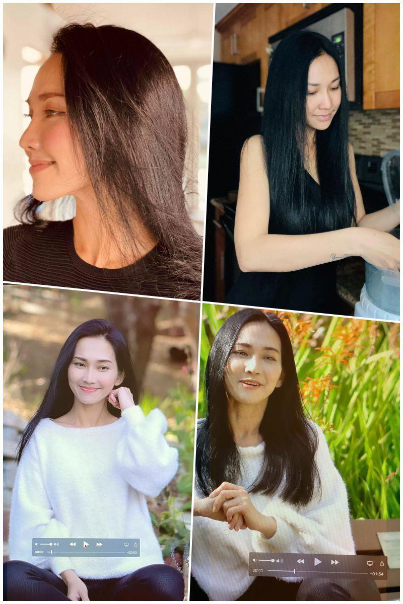 Út ráng Kim Hiền nhuộm tóc vàng hoe như gái Tây, 16 năm mới amp;#34;chơi lớnamp;#34; một lần - 4
