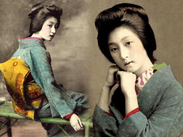 Say đắm dung nhan băng thanh ngọc khiết của huyền thoại nữ Geisha 100 năm trước