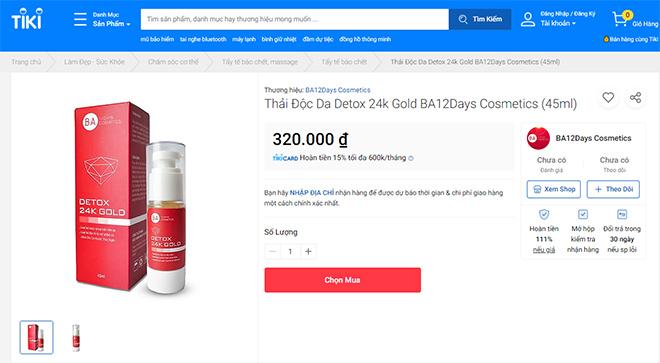 Mua thải độc da Detox Gold 24k chính hãng ở đâu? - 5