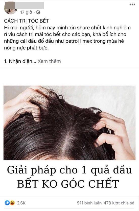 CĐM truyền tay nhau công thức trị tóc bết, nặng đô như đổ dầu nhớt cũng chữa được - 1
