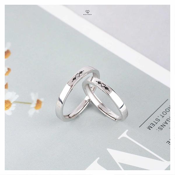 Blue Peach - Dẫn đầu xu hướng trang sức bạc cho các cặp đôi - 2