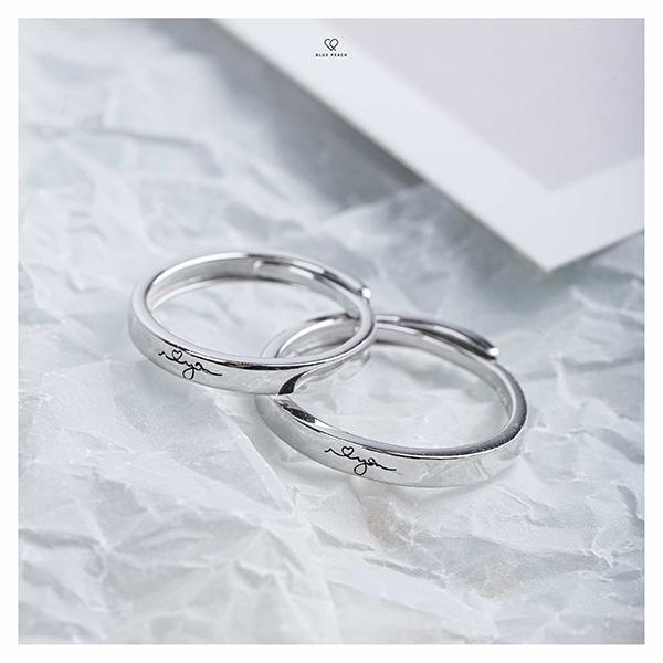 Blue Peach - Dẫn đầu xu hướng trang sức bạc cho các cặp đôi - 3