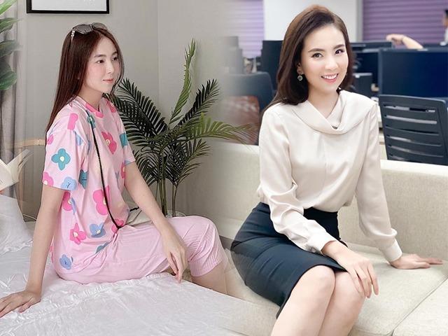 Xả vai gái công sở, Mai Ngọc ở nhà mặc đồ bộ: Chẳng hề bô nhếch, đẹp như tiểu thư