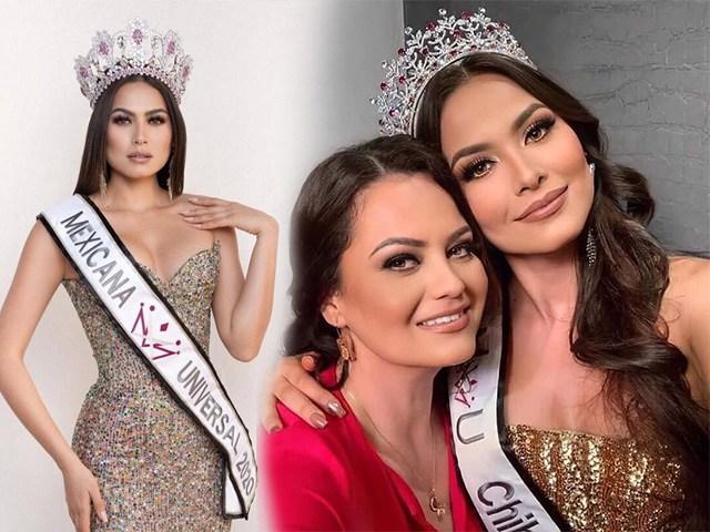 Miss Universe 2020 khoe ảnh selfie cùng mẹ, mẹ đẹp tới nỗi cô nàng bị chê già đanh