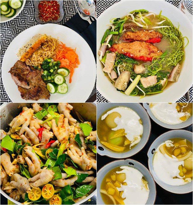 Hoàng Oanh sướng rớt nước mắt, Thu Minh chạy sang ăn ké nhà amp;#34;Nữ tướng cướpamp;#34; vì nấu quá ngon - 15