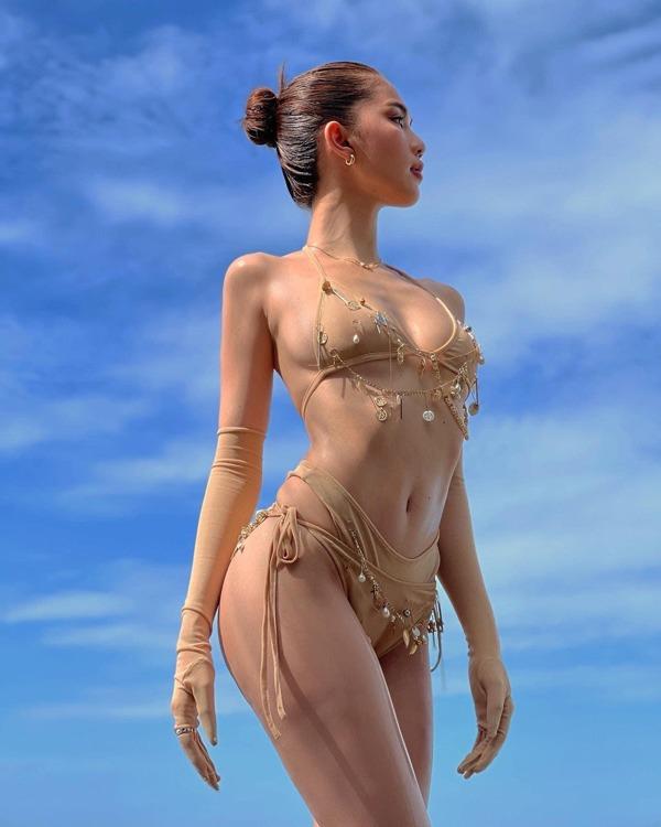 Là nữ hoàng nội y nhưng Ngọc Trinh lại có sở thích mặc đồ của con trai - 1