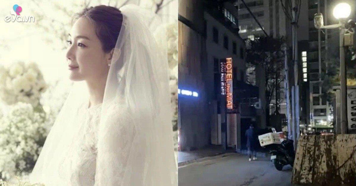Truyền thông Hàn đưa tin Choi Ji Woo bị chồng cắm sừng, lộ ảnh lái xe vào nhà nghỉ