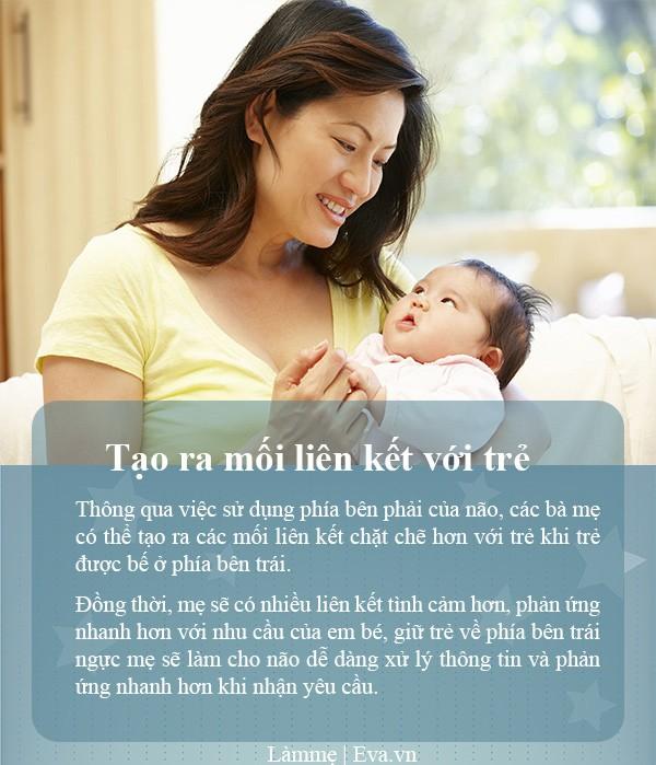 4 lý do đặc biệt mẹ nên bế trẻ bên trái, không chỉ là bản năng - 6