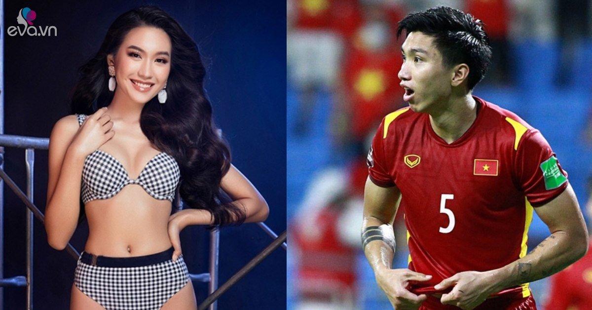Thí sinh bốc lửa của HHVN 2020 nở mũi khi bạn trai lập công lớn trong trận đấu với Malaysia