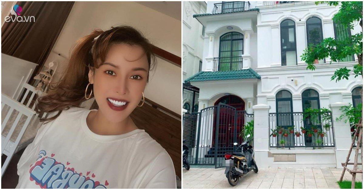 Nhà Celeb: Quế Vân khoe vừa dọn về biệt thự mới ở Hải Phòng, chuẩn bị sinh con