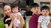 Vợ Cường Đô La kể thái độ con riêng của chồng trước khi em cùng cha khác mẹ chào đời