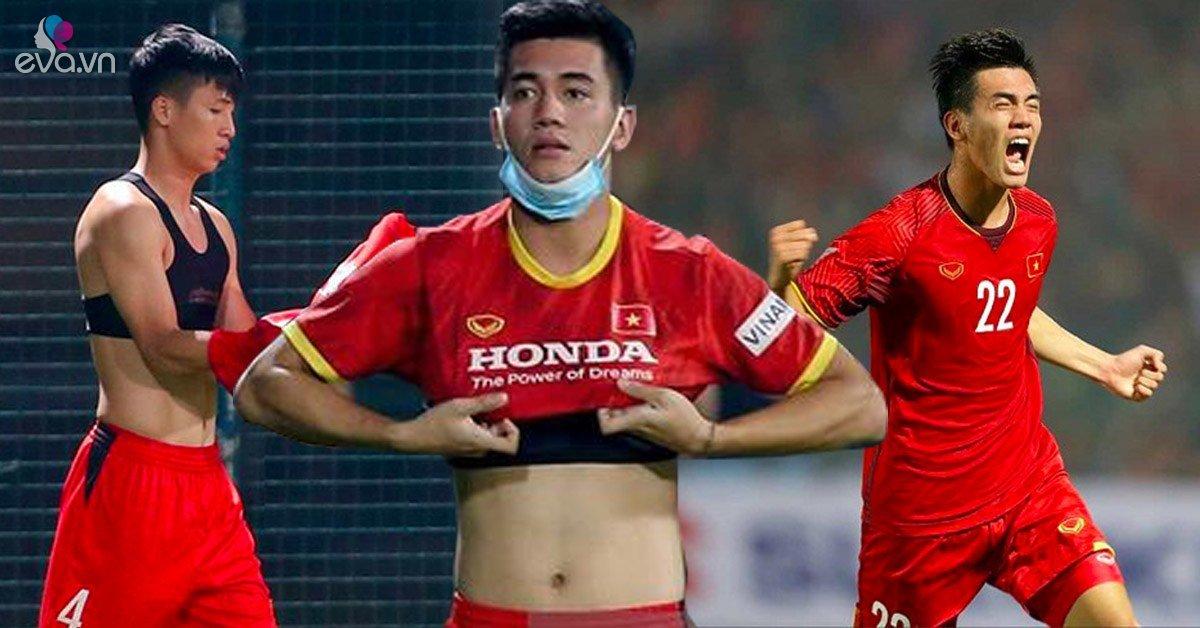 Giải đáp bí ẩn chiếc áo ngực cùng quần bó của tuyển thủ Việt Nam cho chị em