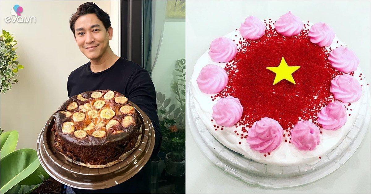 Sao vào bếp: Phục lăn soái ca chưa vợ Hứa Vĩ Văn, còn làm bánh cổ vũ tuyển Việt Nam
