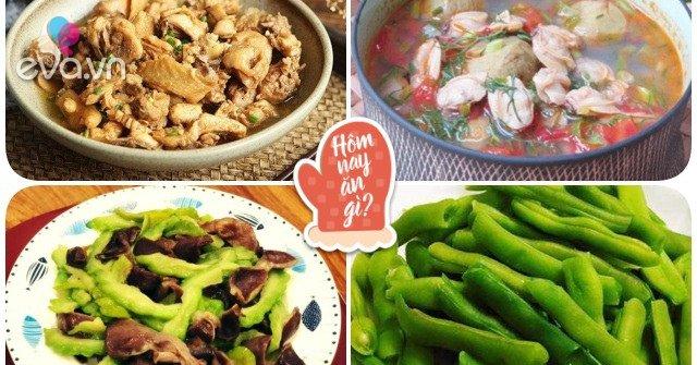 Hôm nay ăn gì: Trời nắng cứ ngỡ khó ăn, cơm nấu vừa đưa lên mâm lại hết sạch
