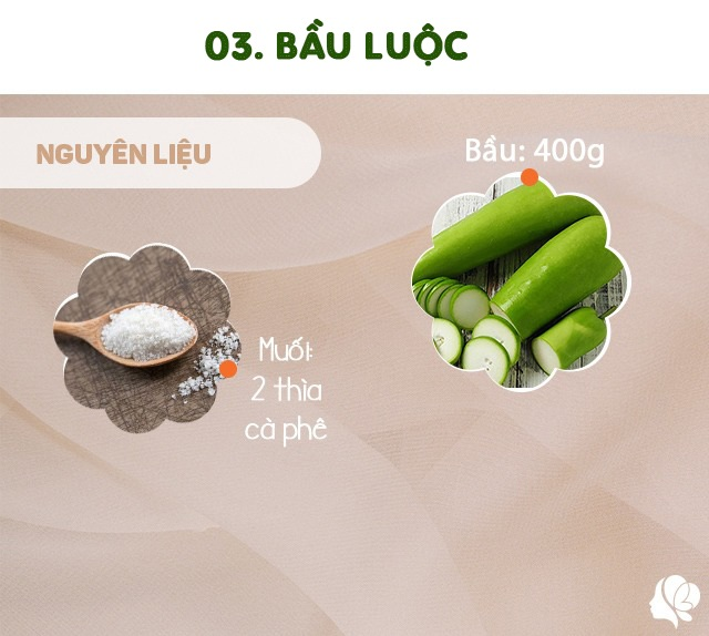 Hôm nay ăn gì: Đổi bữa, vợ nấu món nào cũng ngon, đậm đà, thanh mát trôi cơm ngày nóng - 8