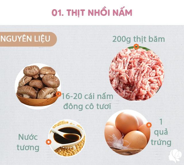 Hôm nay ăn gì: Đổi bữa, vợ nấu món nào cũng ngon, đậm đà, thanh mát trôi cơm ngày nóng - 4