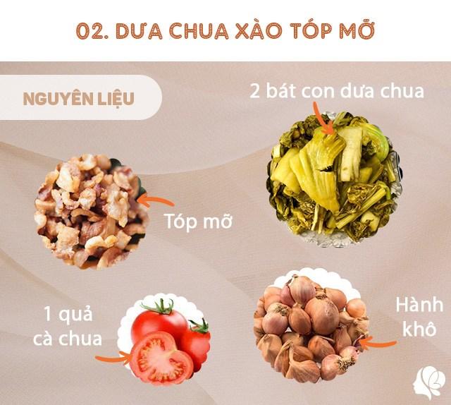 Hôm nay ăn gì: Đổi bữa, vợ nấu món nào cũng ngon, đậm đà, thanh mát trôi cơm ngày nóng - 6