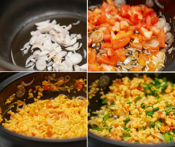 cách làm sốt cà chua trứng | Món Miền Trung