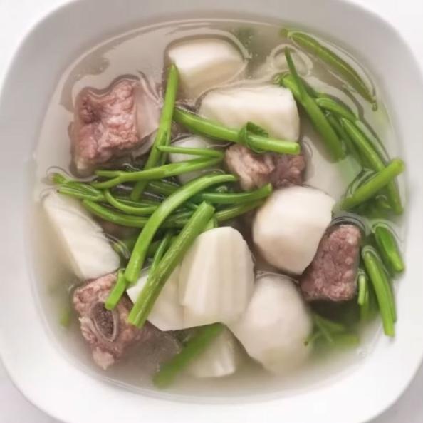 6 cách nấu canh khoai sọ bở ngon hấp dẫn cực đơn giản - 16
