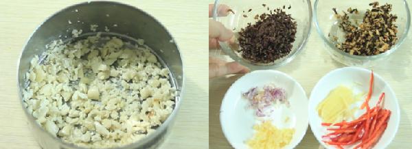 Cách làm mực nhồi thịt hấp giòn ngon ăn mãi không ngán - 4