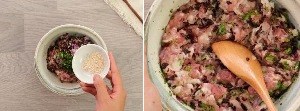 Cách làm mực nhồi thịt hấp giòn ngon ăn mãi không ngán - 5