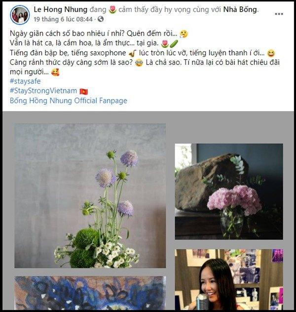 Nhà Celeb: Diva Hồng Nhung thảnh thơi cắm hoa, tới hoa hậu cũng khen không ngớt - 3