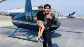 """Sao Việt 24h: Đan Trường """"chơi lớn"""" thuê trực thăng chiều con trai 4 tuổi, máy bay rung lắc mạnh"""