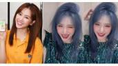 Hari Won bất ngờ xuất hiện với mái tóc tẩy xanh khói chất chơi