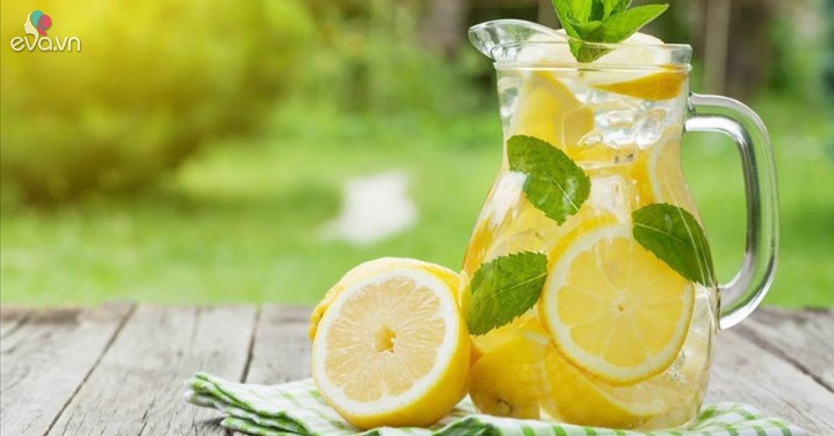 Nước chanh giải khát rất tốt nhưng nếu phạm phải sai lầm này sẽ gây hại sức khỏe rất lớn