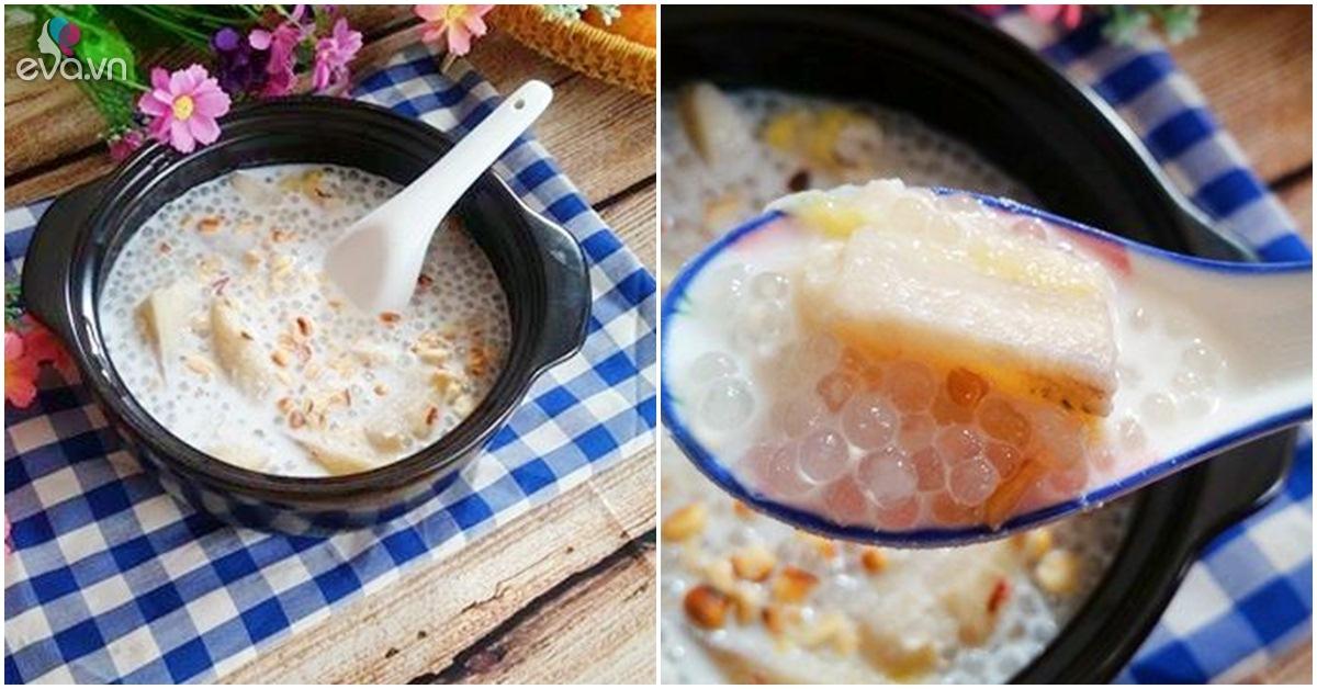 Cách nấu chè chuối nước cốt dừa ngon không cưỡng nổi