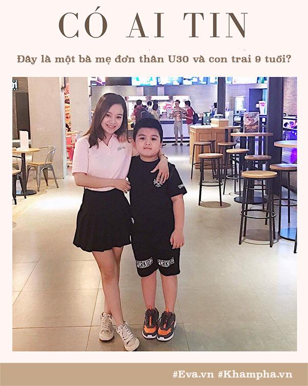 single mom u30 lao cai 8 nam vat va nuoi con van nhu gai 16, di voi con ai cung tuong chi em - 1