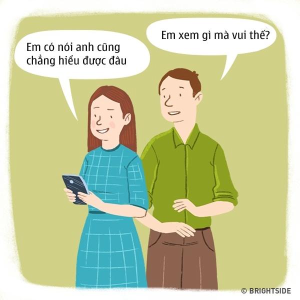 "voi dan ong, 15 phat ngon nay cua phu nu chang khac gi ""lam kho nhau"" - 11"