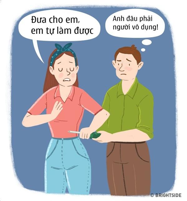"voi dan ong, 15 phat ngon nay cua phu nu chang khac gi ""lam kho nhau"" - 4"