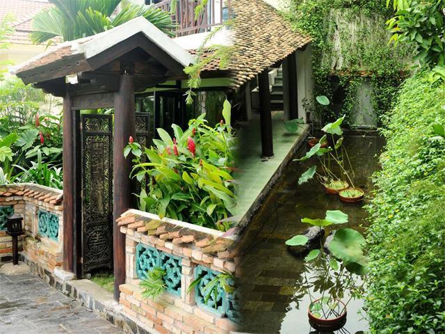 Cận cảnh khu nhà vườn triệu đô bình yên, xưa mà không cũ của diva Hồng Nhung