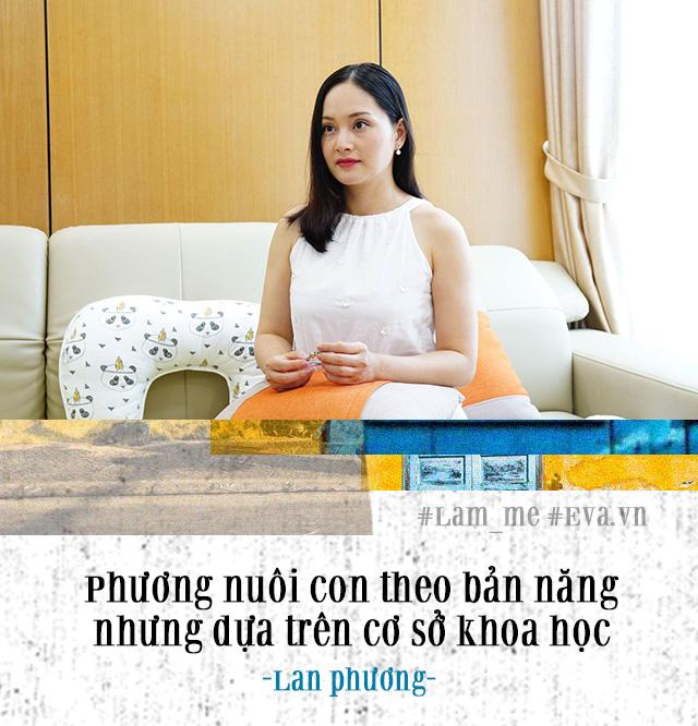 "4 thang quay cuong cham con mon, lan phuong tu tin la mot ba me ""khong te"" - 3"