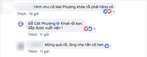 mai phuong sap duoc xuat vien sau thoi gian dieu tri benh ung thu phoi - 1